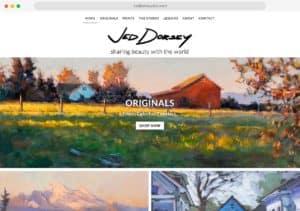 jed dorsey art web design