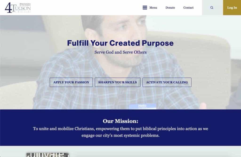 4tucson nonprofit web design