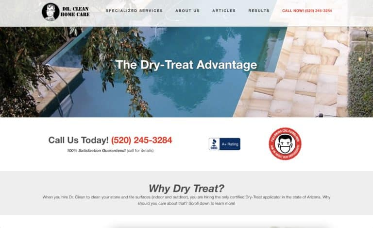 dr clean home care website gallery 2