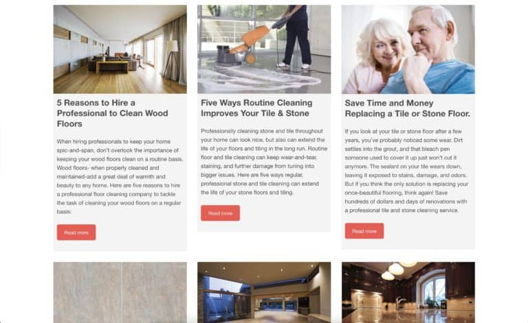 dr clean home care website gallery 4