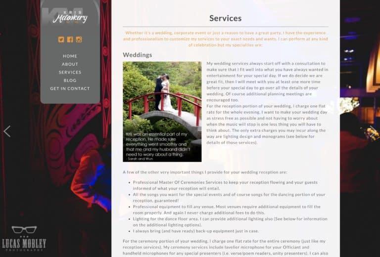 kris mccoskery web design gallery 4