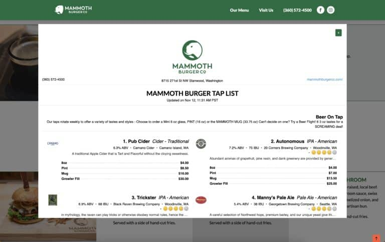 mammoth website gallery 3